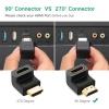 Ugreen HDMI csatlakozó adapter - balra néző toldat