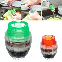 Vízcsapra erősíthető kompakt vízszűrő, víztisztító - vegyes színben